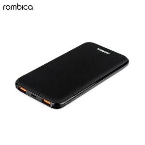 Внешний аккумулятор Rombica NEO Omega Black mini, 12000 мАч, черный