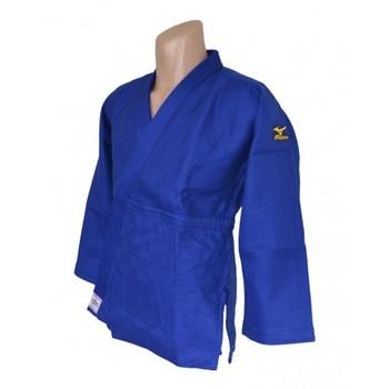 Judogi (chaqueta+pantalón) Mizuno Yusho azul homologado IJF.