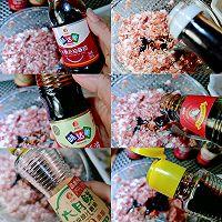 #太太乐鲜鸡汁芝麻香油#汤汁萝卜包肉卷的做法图解2