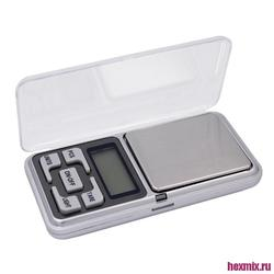 Scales electronic pocket 0,1/500 grams