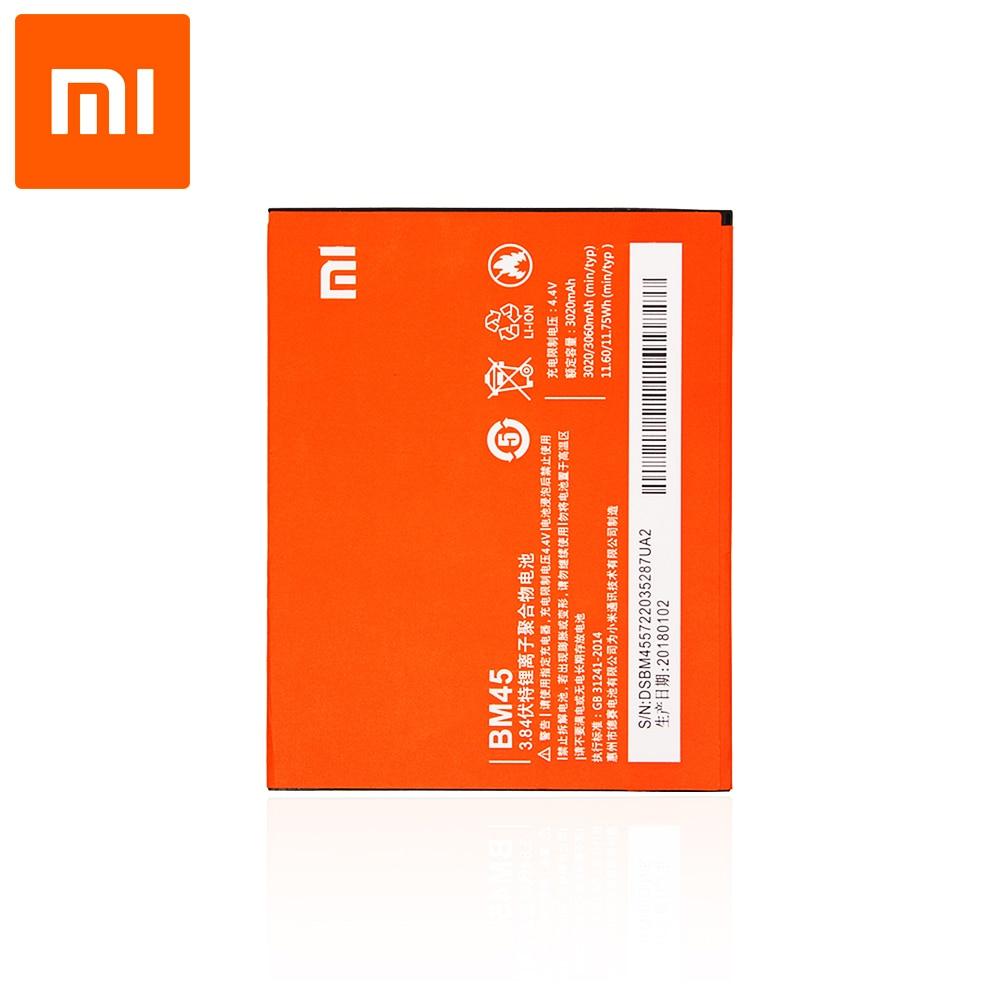 Оригинальный аккумулятор для смартфона Xiaomi Redmi Note 2 (3,8 в, 3020 мАч, BM45)