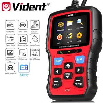 원래 Vident iEasy310 향상된 OBDII 코드 리더 배터리 테스트 기능|코드 판독기 및 스캔 도구|   -