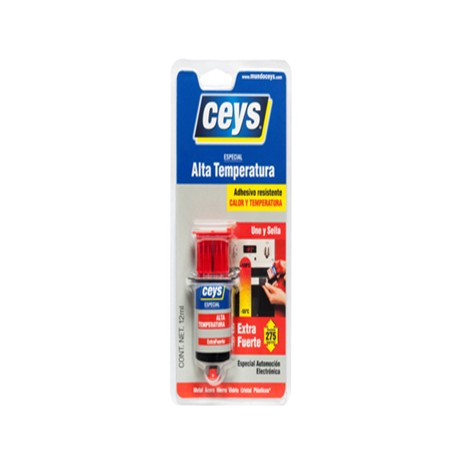 ADHESIVE CONTACT HIGH TEMPERATURE 12 ML Extra STRONG CEYS