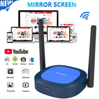 X13 4K TV Stick 5G WiFi pantalla Anycast Miracast Airplay DLNA Dongle Mirascreen espejo TV de pantalla dispositivo para IOS Android
