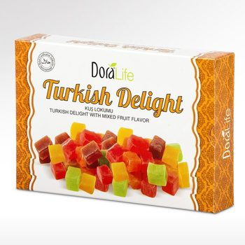 DoraLife - Turkish Delight wıth Mixed Fruit Flavor 225 g фото