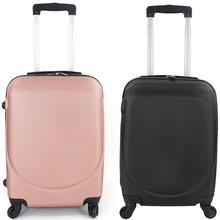 maleta de viaje para cabina rigida con 4 ruedas