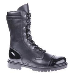 Semiseason, botines de cuero genuino con cordones, botas militares planas para hombres, 5005/1WA