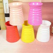 Plastic Vase Imitation Ceramic Flower Pot Flower Basket Flower Vase Home Wedding Decor Home Decor Support Dropshiping 10 e kayfun flower vase atomizer