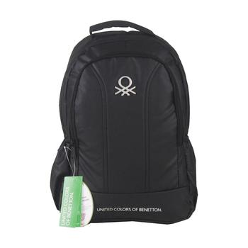 United Colors Of Benetton School Backpack Black 96029 Luggage & Bags / Backpacks шапка united colors of benetton united colors of benetton un012cgfuld9
