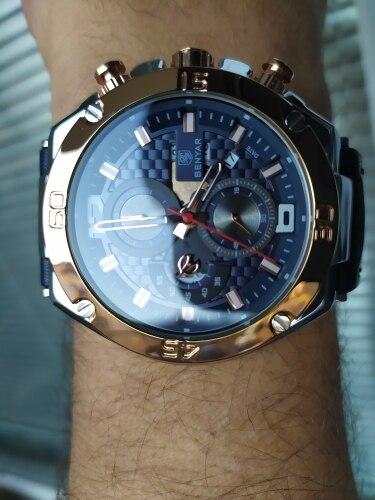 -- Homens Relógio Benyar