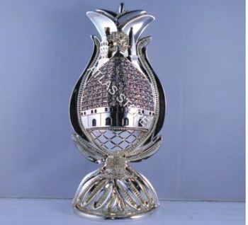 Pitcher Design Allah 99 Names Islamic Table Gift In Silver Color