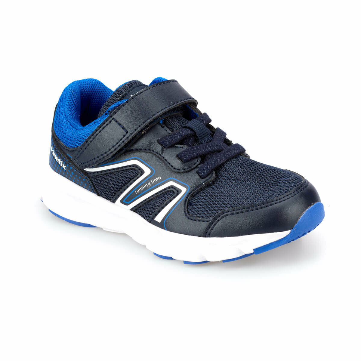 FLO JIKA Navy Blue Male Child Running Shoes KINETIX
