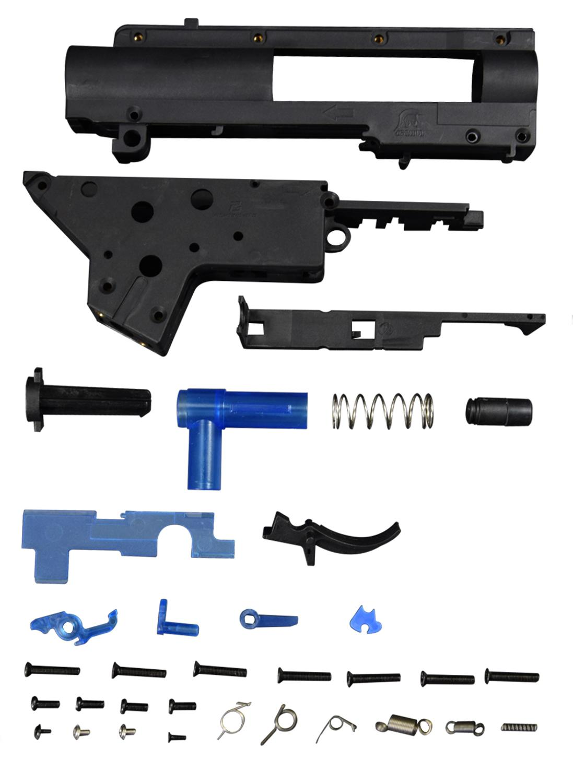 FightingBro 3.0S Gel Gearbox Gel Split Gearbox Nylon Receiver For Airsoft AEG Air Guns Paintball