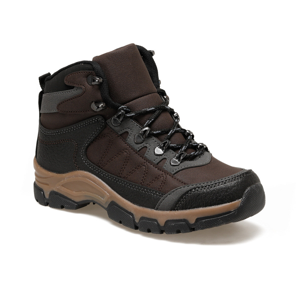 FLO AZUR HI Brown Mens Outdoor Boots Torex