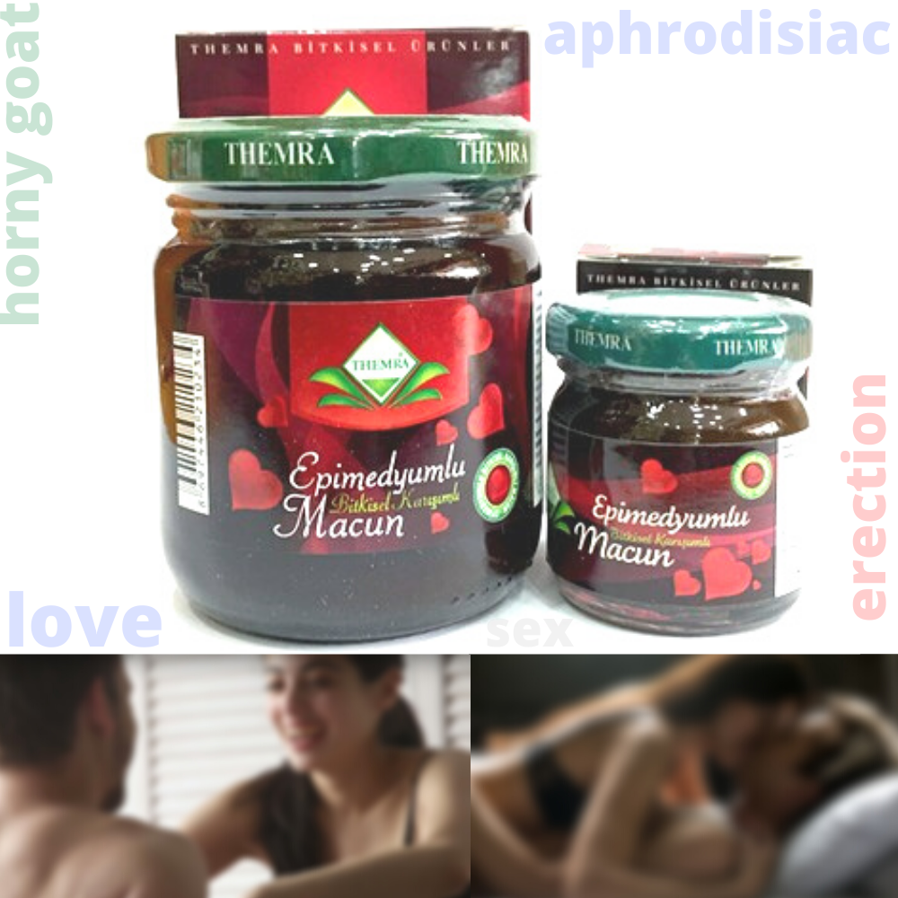 Epimedium Herbal Paste 43 Gr. Ginseng Medicine Potency Horny Goat Weed  Potency Energy Herbs Penis Body Building Libido Erection
