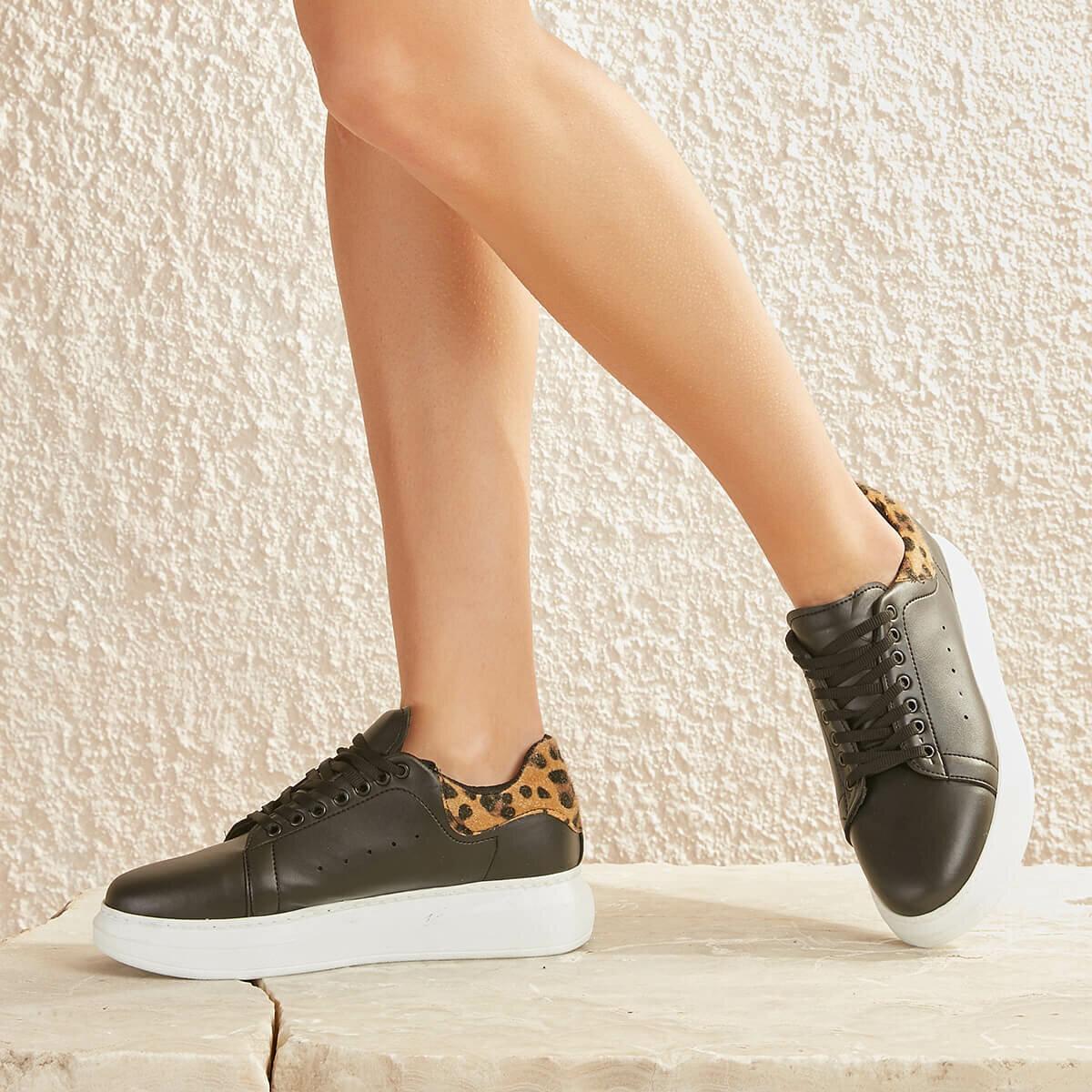 FLO MOSES89Z SKIN Leopard Women 'S Sneaker Shoes BUTIGO