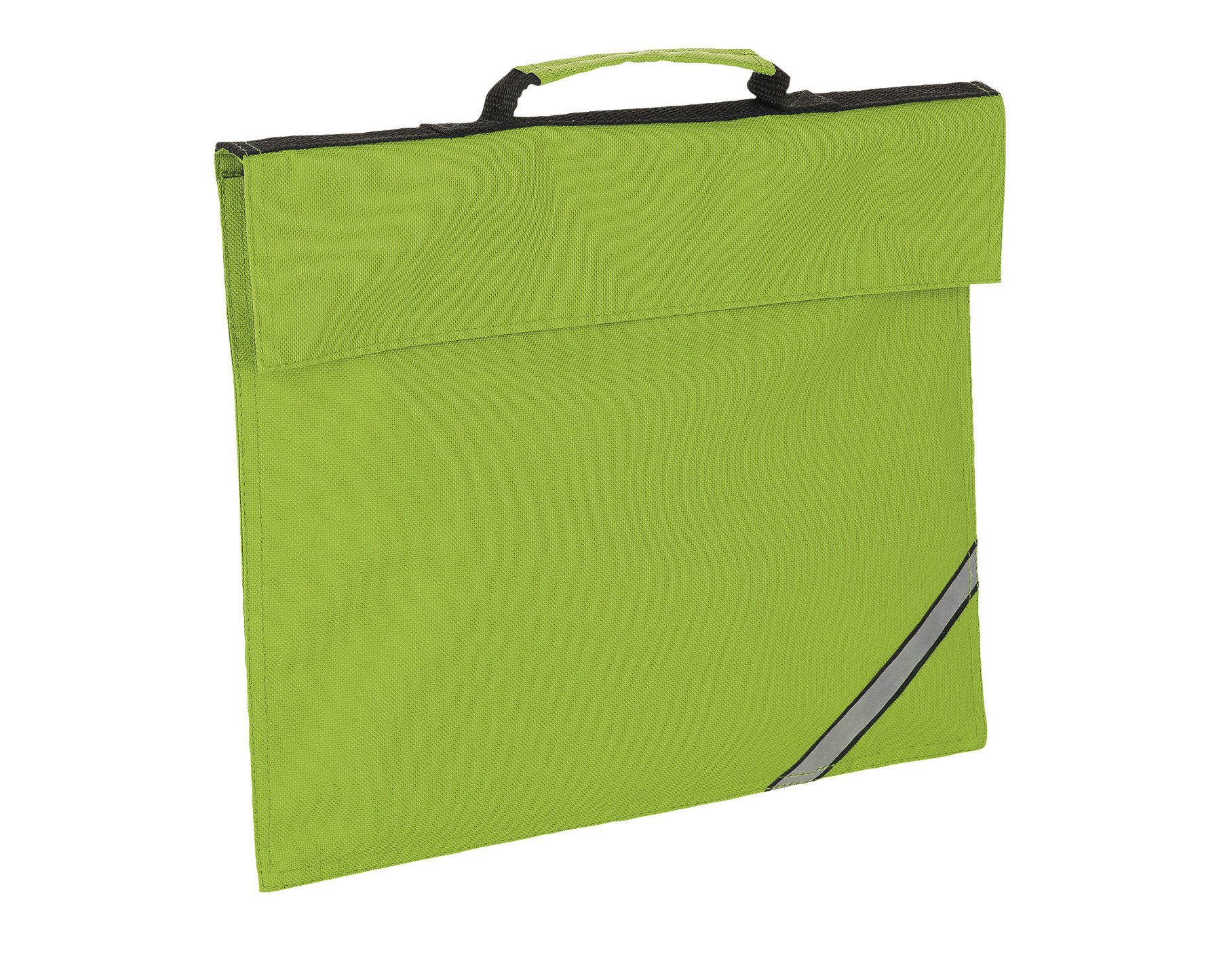 WALLET LIME DOCUMENTS OXFORD WITH REFLECTIVE STRIP