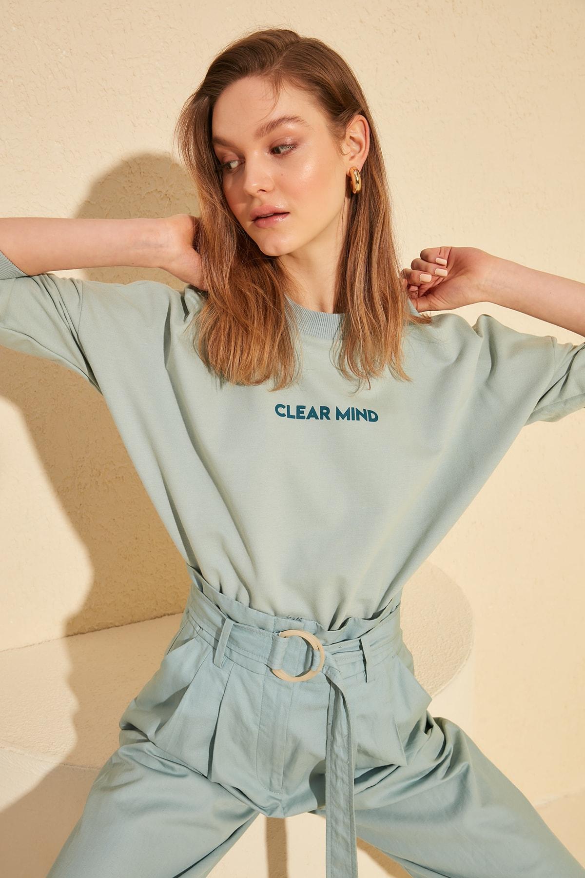 Trendyol Knitted Sweatshirt TWOAW20SW0073