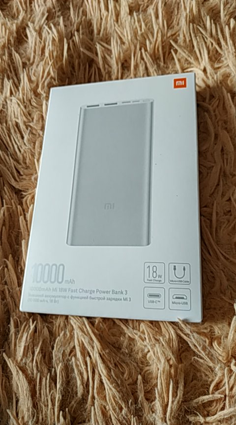 Xiaomi 3 Power Bank 10000mAh USB type C two way 18W quick charge Xiaomi Mi Power Bank 3 Xiaomi powerbank portable charger|Power Bank|   - AliExpress