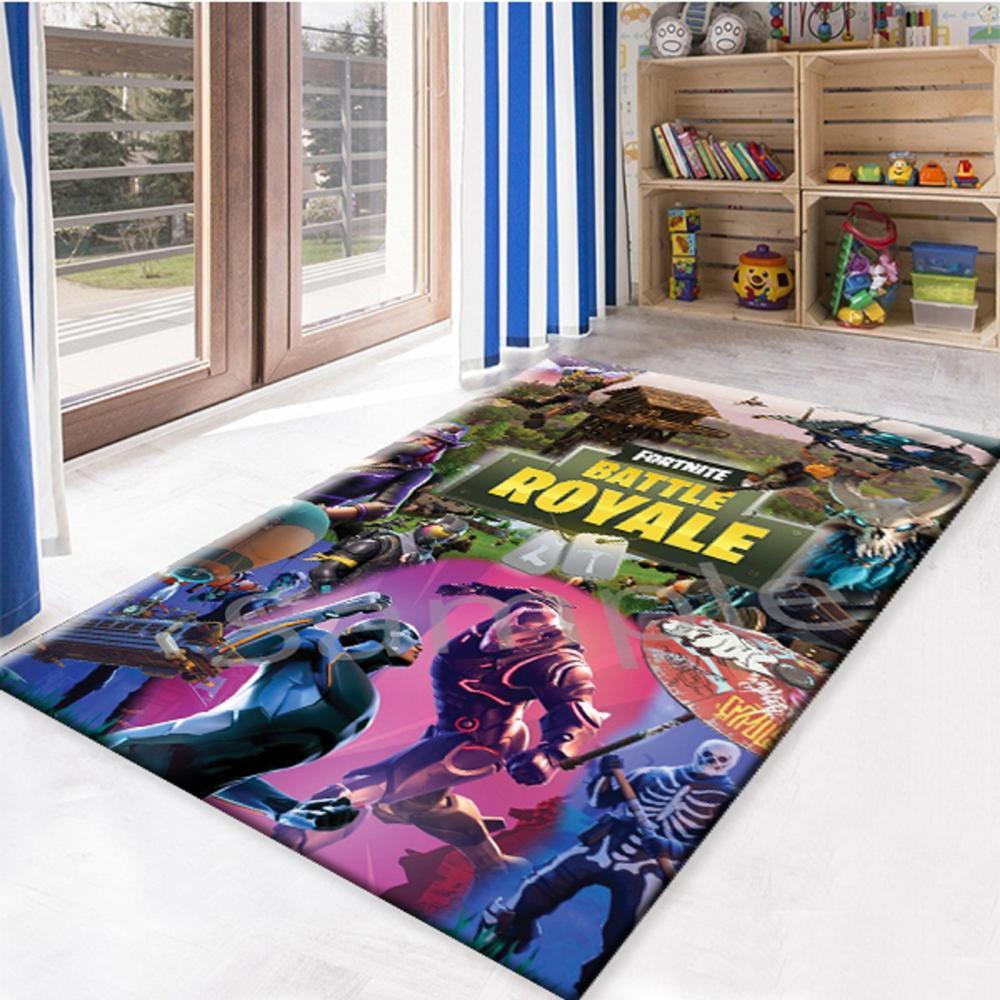 Fortnite Is 3 Non Slip Floor Carpet, Teen's Carpet