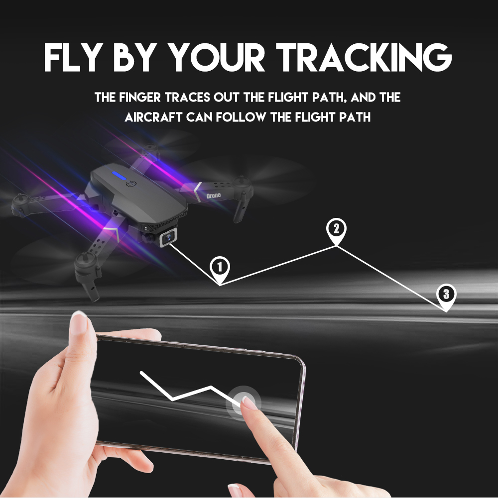 cheapest E525 drone 4k  with camera 4k drones WIFI FPV RC quadcopter dron remote control helicopter 15 mins Flight time quadrocopter Toy