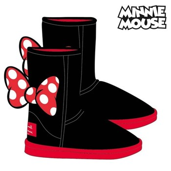Детские повседневные ботинки с Минни Маус 74112 черный