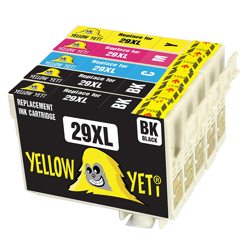 5pcs Compatible 29XL T2991 ink Cartridges T2994 For <font><b>Epson</b></font> XP257 XP352 <font><b>XP345</b></font> XP432 XP435 XP442 XP445 XP255 XP355 XP455 Printing image