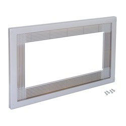 Frame Emuca to fit microwave in painted plastic aluminum