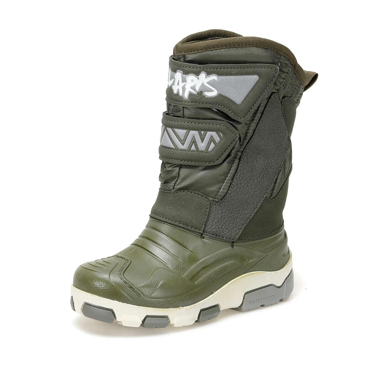 FLO 92.512068.P Khaki Male Child Boots Polaris
