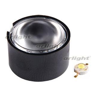 011237 Lens 45DH1BD (45 °, Emitter, Black) Box-100 ARLIGHT Leds Modules/Lens/Emitter [DN H1, H4]...