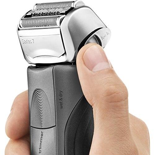 Зубных щеток Braun электрическая бритва для Для мужчин, серия 7 7865cc электробритва с точный триммер, Перезаряжаемые, Влажная и сухая Фольга бритва 5