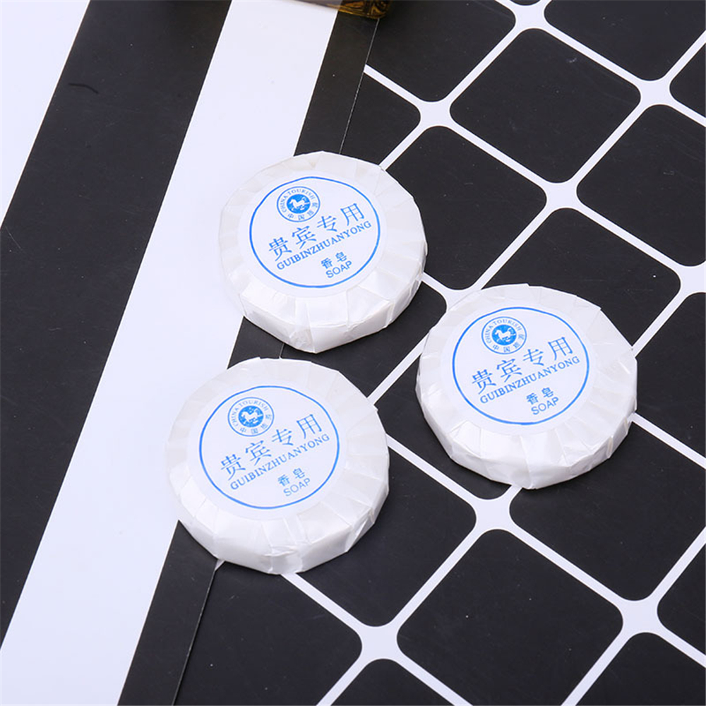 New Mini Round Soap Outdoor Travel Soap Paper Washing Hand Bathing Clean Scented Soap Disposable Soap Portable