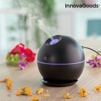 Mini Humidifier Scent Diffuser Black InnovaGoods   -
