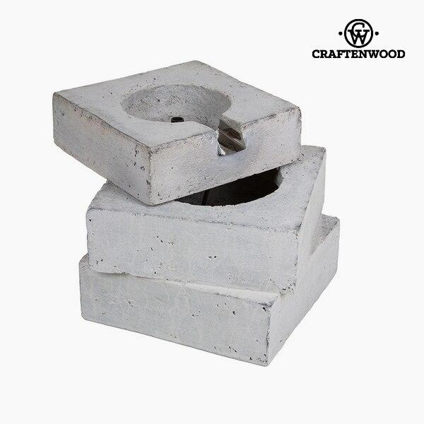 Garden Fountain (36,5 X 34,5 X 23,5 Cm) Resin Grey