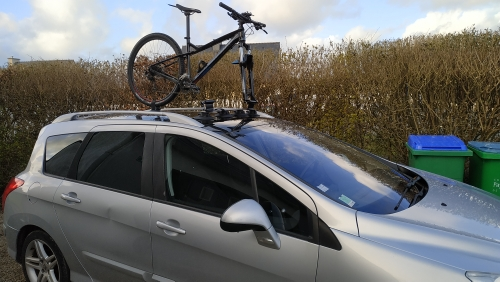 Car Roof-Top Racks for Bicycle photo review