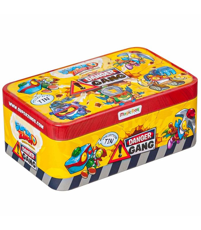 Superzings S Tin Danger Gang Toy Store