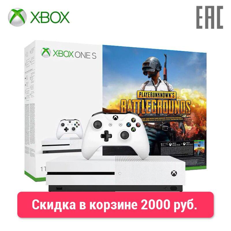 Xbox One S 1TB + PUBG 0-0-12 цены онлайн