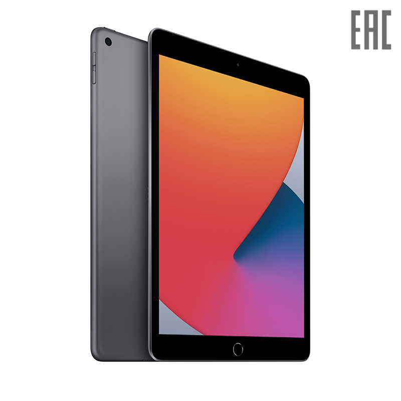 "Планшет Apple 10.2"" iPad Wi-Fi 32 ГБ (2020) (MYL92RU/A, MYLA2RU/A, MYLC2RU/A)"