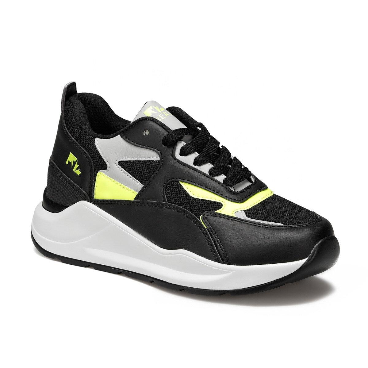 FLO Black Women Sneaker Shoes New Platform Ladies Sneakers Breathable Women Casual Shoes Woman Fashion Shoes LUMBERJACK NATALIE