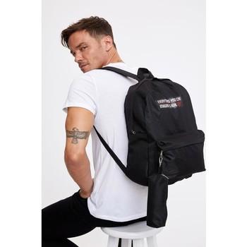 Defacto męski plecak z nadrukiem w pudełku tanie i dobre opinie Poliester TR (pochodzenie) Plecaki