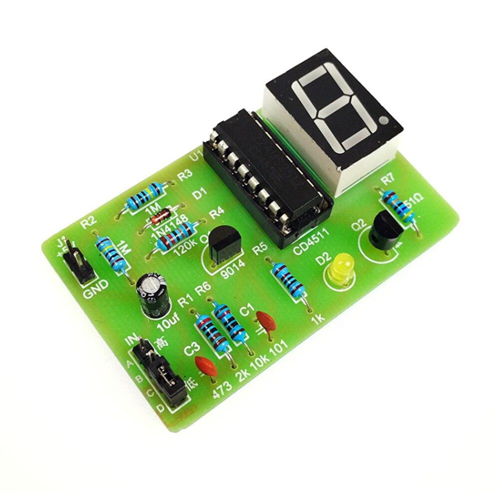 Taidacent 10 Pcs Digital LED Logic Pen Electronical Circuit Practice Basic Experiment Kit Level Test DIY Kit Electronics Fun Kit