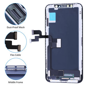 Image 3 - Elekworld Grade For iphone X OLED XS XR TFT With 3D Touch Digitizer Assembly No Dead Pixel LCD Screen Replacement Display