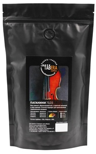 Свежеобжаренный coffee Taber Paganini in grains, 1 kg