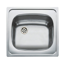 Sink with One Basin Teka 3001 E/50 1C Stainless steel