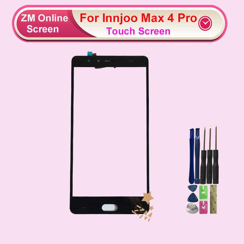RYKKZ For Innjoo Max 4 Pro Touch Screen No LCD Display Digitizer Replacement With Tools