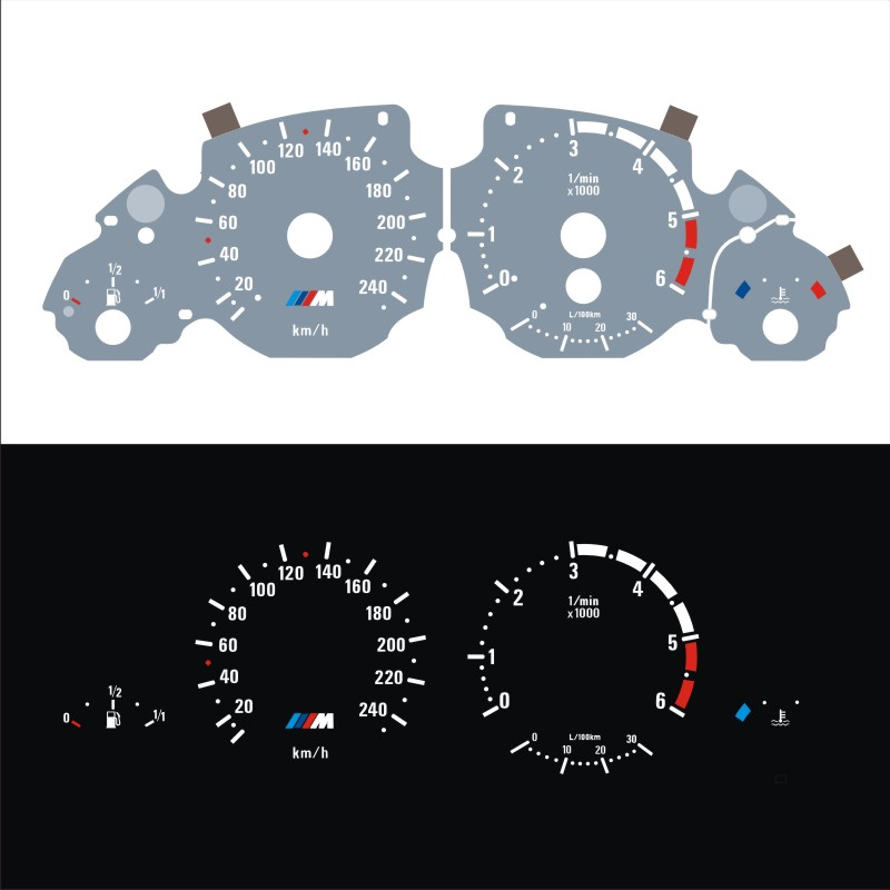 Индикатор свечения для E39 E53 Diesel 520d 525d 530d X5 3.0d 6000 об/мин