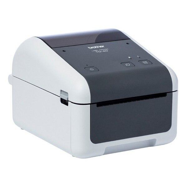 Thermal Printer Brother TD4410D 203 Dpi USB 2.0 Grey White