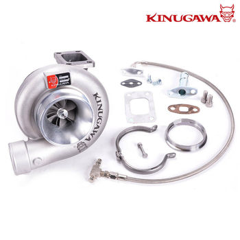 "Kinugawa Turbocharger 4"" Non Anti-Suger T67-25G 8cm T3 V-Band External Gated"