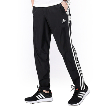 Adult's Tracksuit Bottoms Adidas (Talla S) Black
