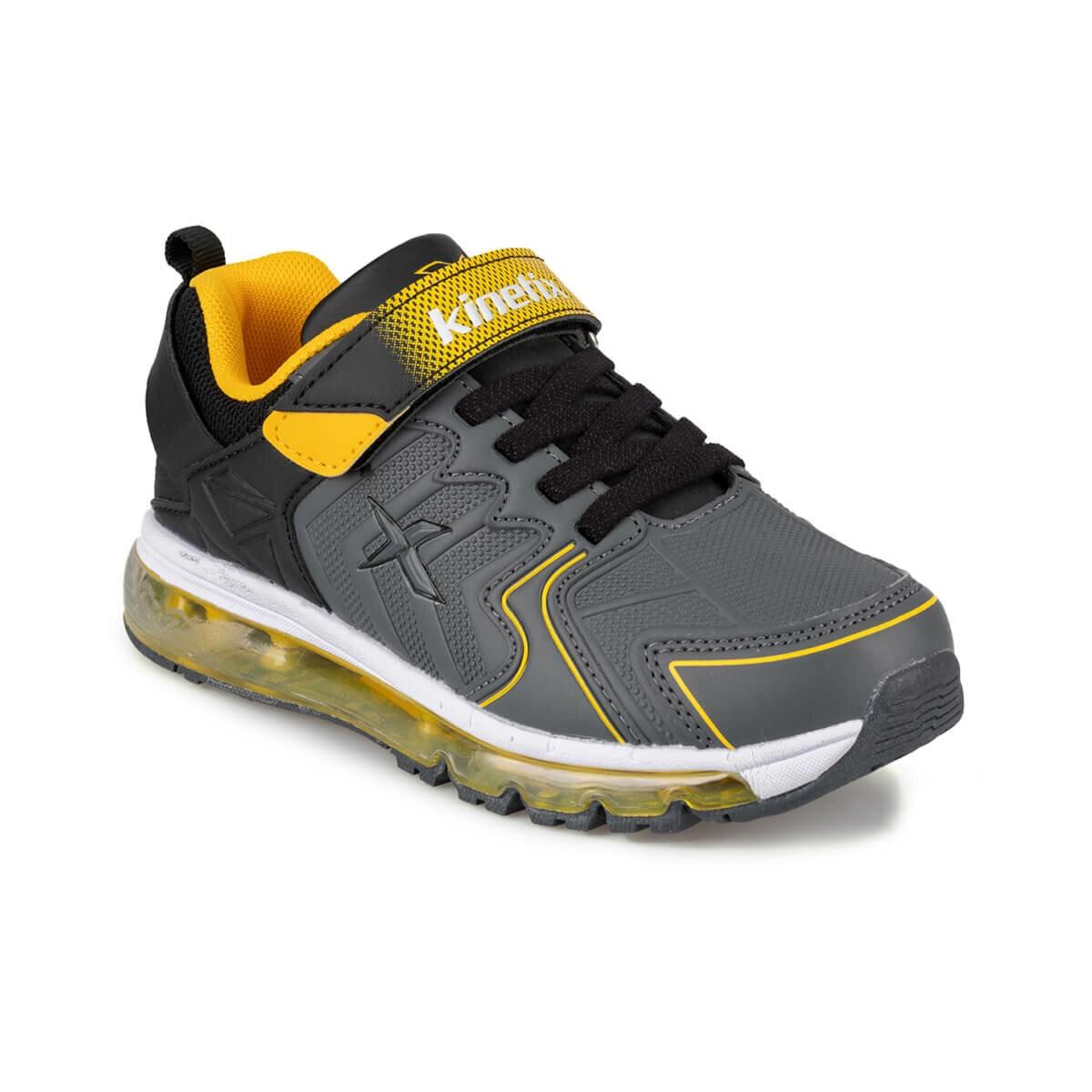 FLO AFLON 9PR Gray Male Child Running Shoes KINETIX